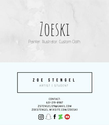 Zoe Stengel; Business Card_V1