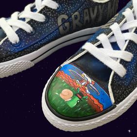 Shoe Custom: Gravy Man
