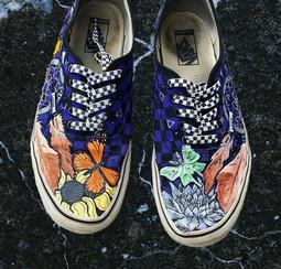 Shoe Custom: Checkered
