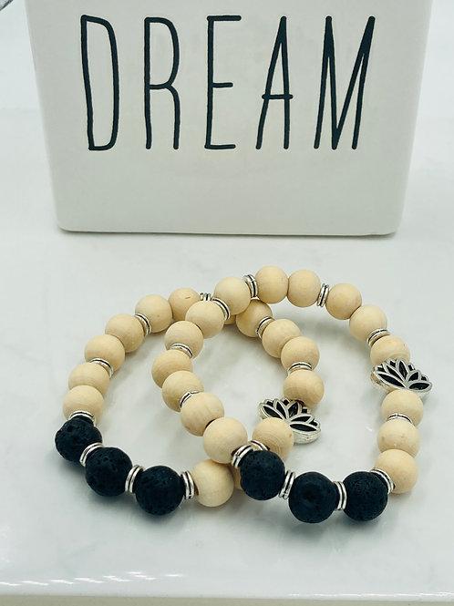 Diffuser Lava Stone Bracelet