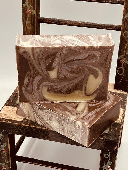 Sexy Man Soap- Patchouli, Bergamot and Sandalwood