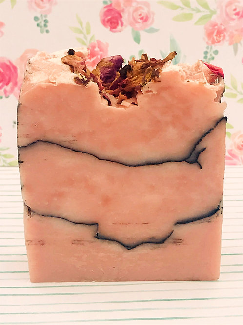 Rose Clay, Charcoal and Jasmine