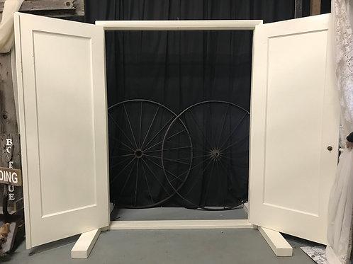Ivory Grand Entrance Doors