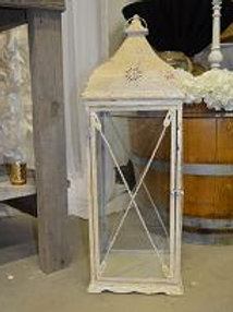 Antique Cream Lantern