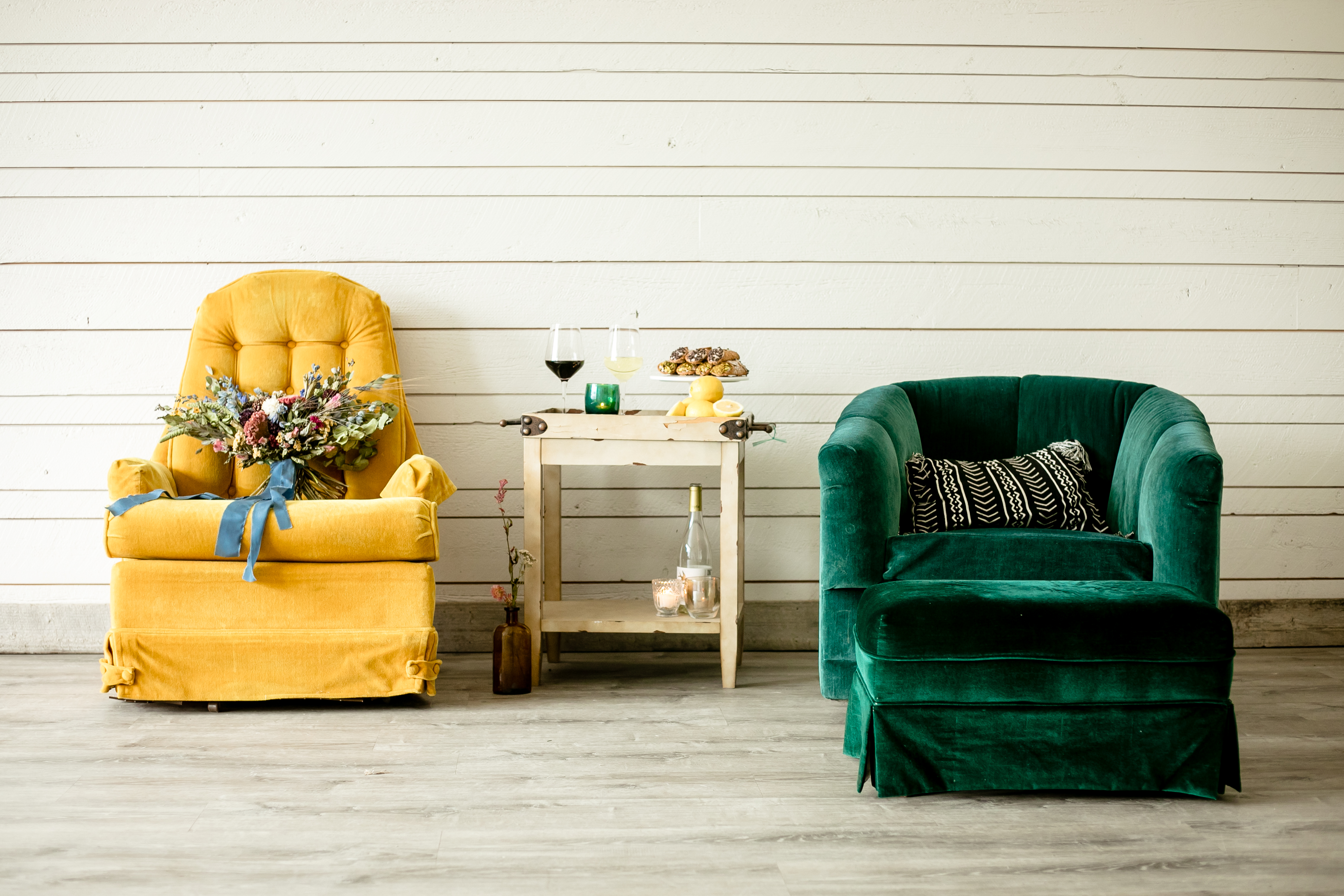 velvet seating