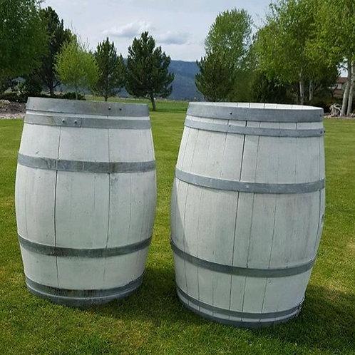 White Whiskey Barrels