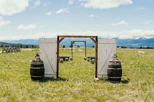 Barn Wood Doors Arch