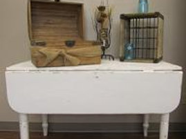 Antique White Kitchen Table