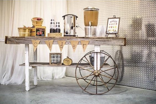 Barn Wood Cart