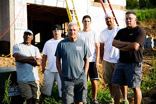 Construction Crew  with Over 75 years Co