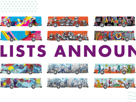 Public Voting Open NOW for Tom Tom's 5th Annual City Art Bus Competition