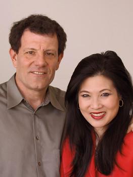 Nick Kristof and Sheryl WuDunn