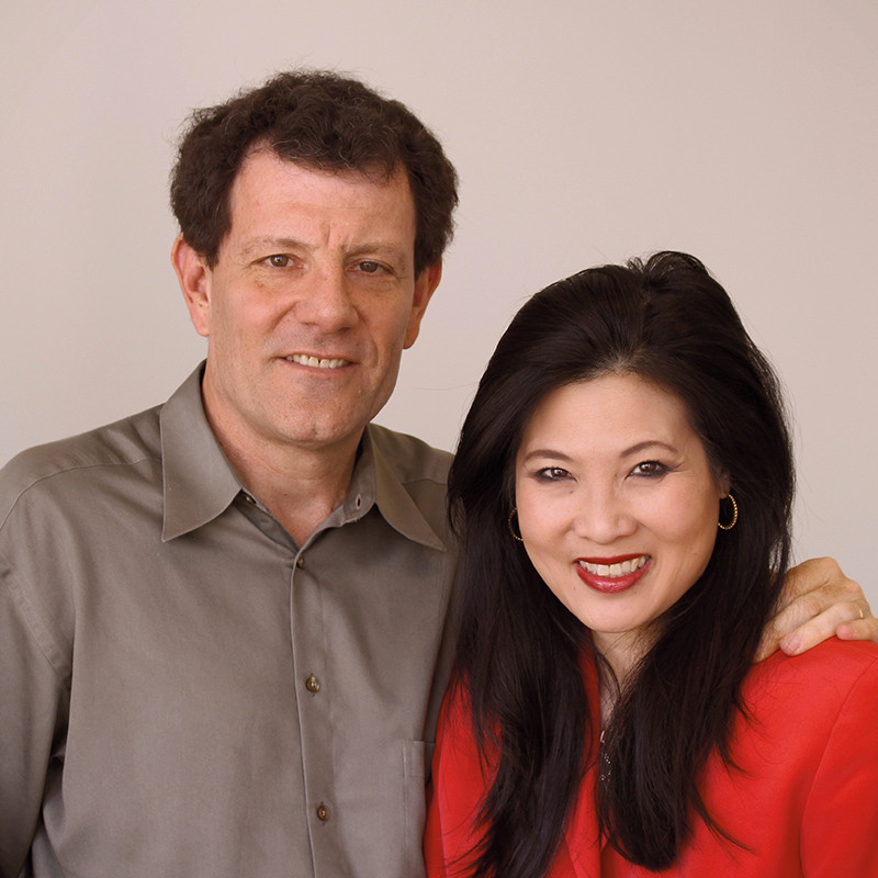 Nick Kristof and Sherly WuDunn