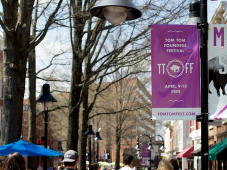 Tom Tom Hosts Art Competition for Downtown Lamppost Banners