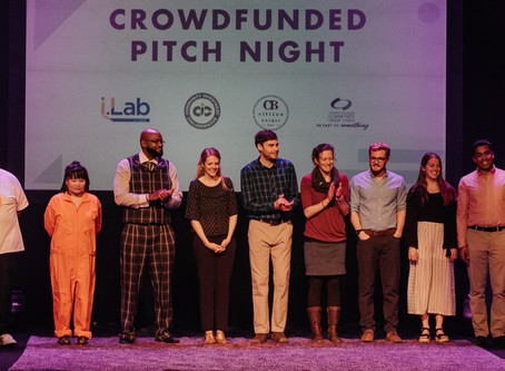 2019 Crowdfunded Pitch Night Finalists Announced!