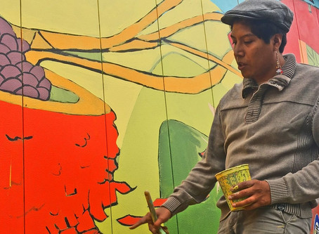 Tom Tom and the Bridge PAI Team Up to Present Charlottesville's Newest Mural