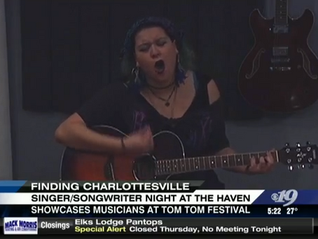 Finding Charlottesville: Singer/Songwriter Night at The Haven