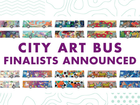 Public Voting Open NOW for Tom Tom's 6th Annual City Art Bus Competition