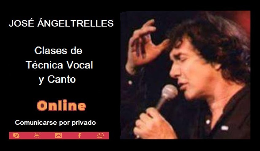 CLASES ONLINE JAT-CANTO Y TECNICA VOCAL.