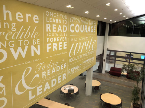 Environmental Graphics for North Haven Middle School