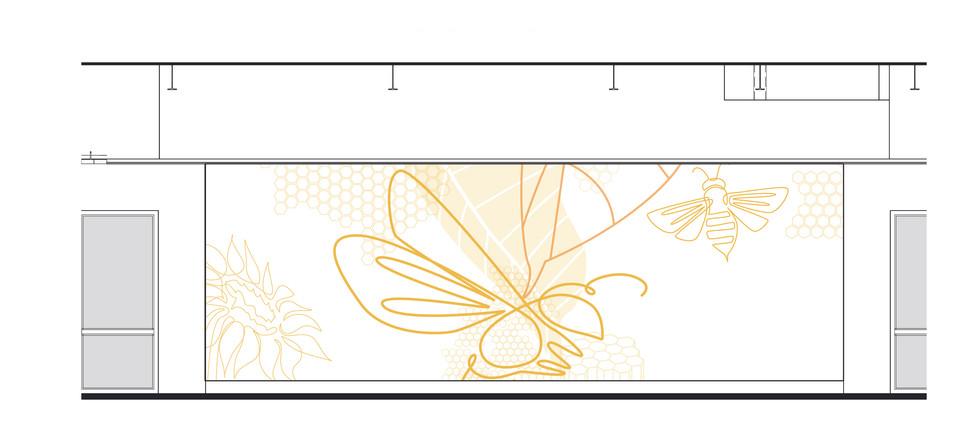 Mural Design - Bees
