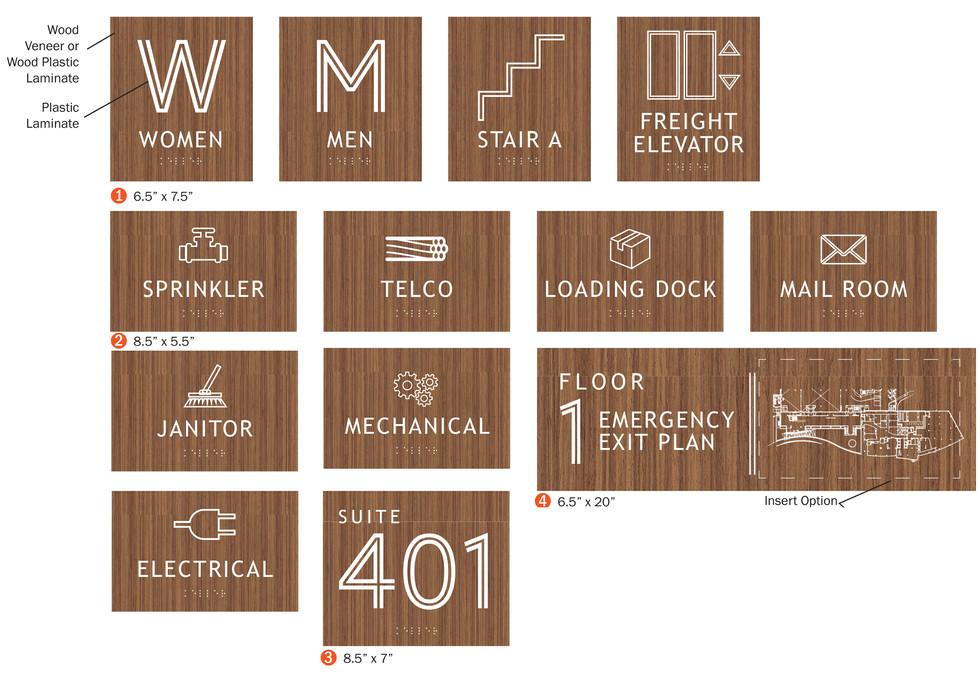 Signage Package Design