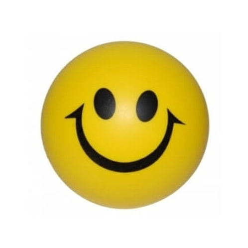 Sarı Gülen Yüz Stres Topu