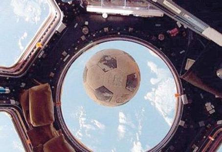 Uzaydan 'futbol topu' nun mucizevi dönüşü!
