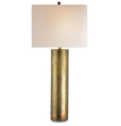 Constable Vintage Brass Table Lamp