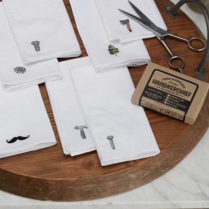 Embroidered Handkerchief Set