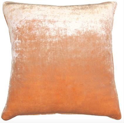 Apricot Velvet Pillow