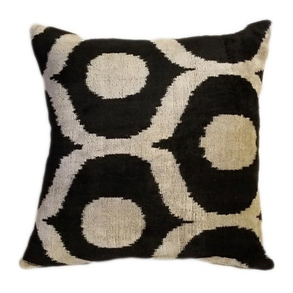 Pattern-Back Pillow