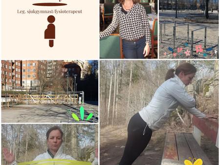Träning i Fatbursparken för dig som är gravid och för dig som fött barn!