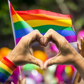 RAINBOW IS MINE, BEING GAY IS PRIDE