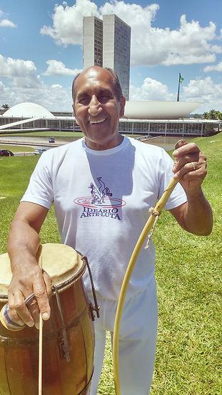 Mestre de Capoeira Zulu Antonio Batista Pinto