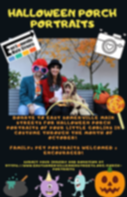 Purple Pumpkin Fest Halloween Flyer-2 (1