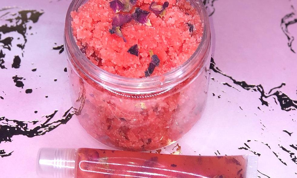 Cupid's Rose Garden Bundle (Strawberry Flavored)