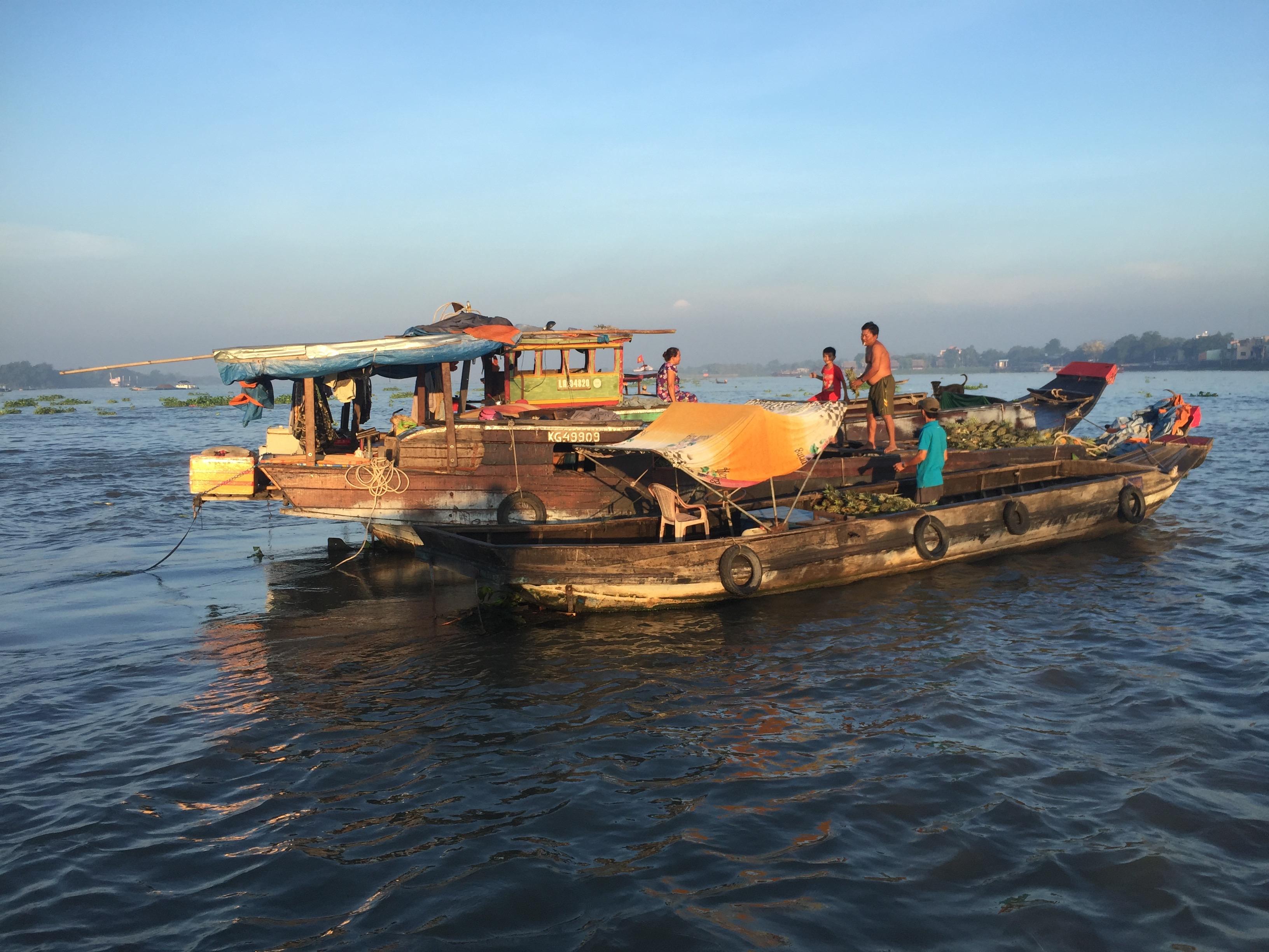 Amazing Race Canada Mekong Delta