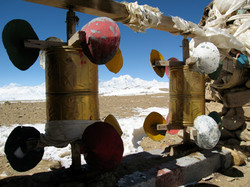Prayer Wheels and Shishapangma