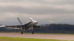 F18 Hornet Take Off