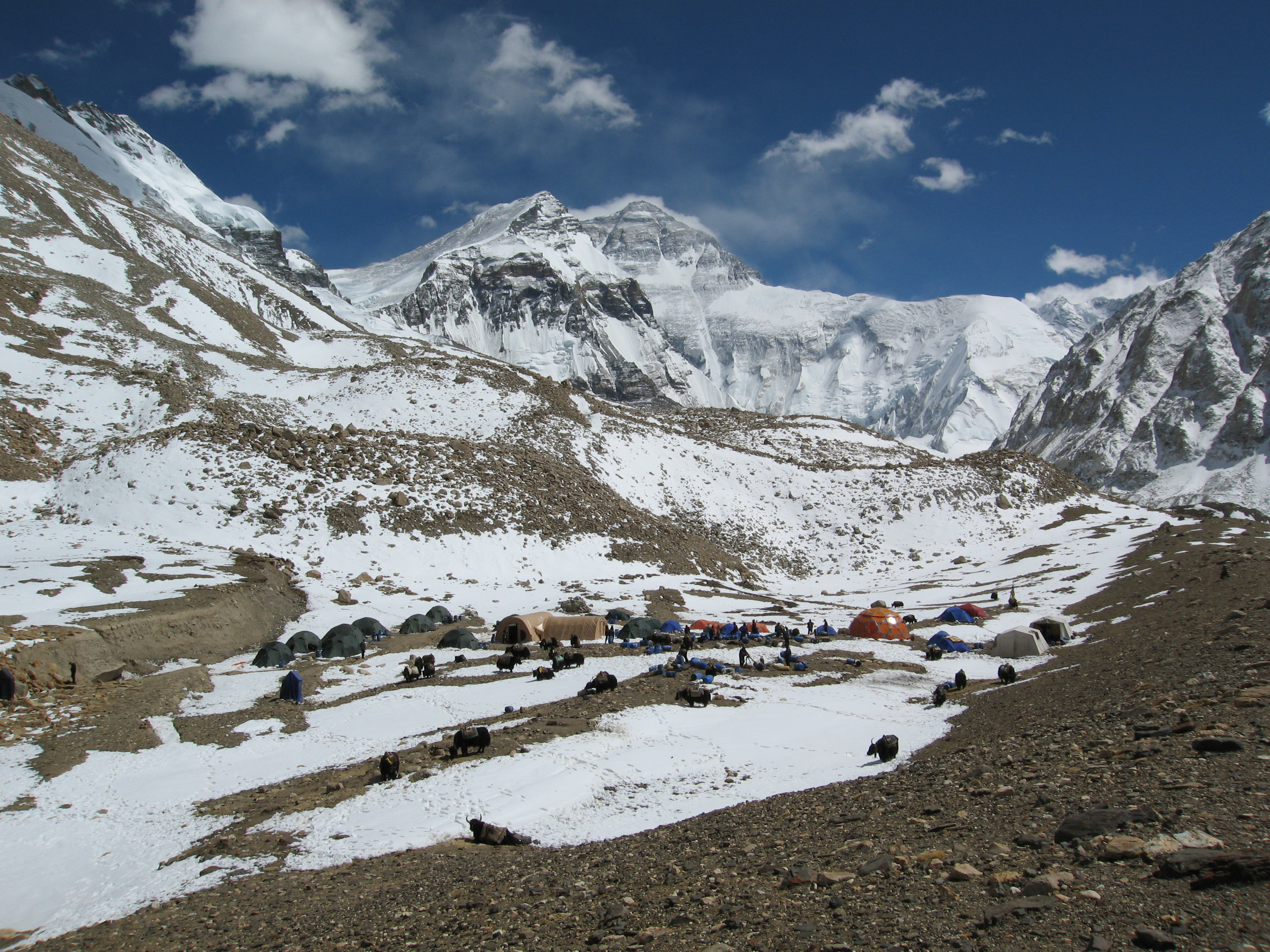 Everest Tilmans Advanced Base Camp