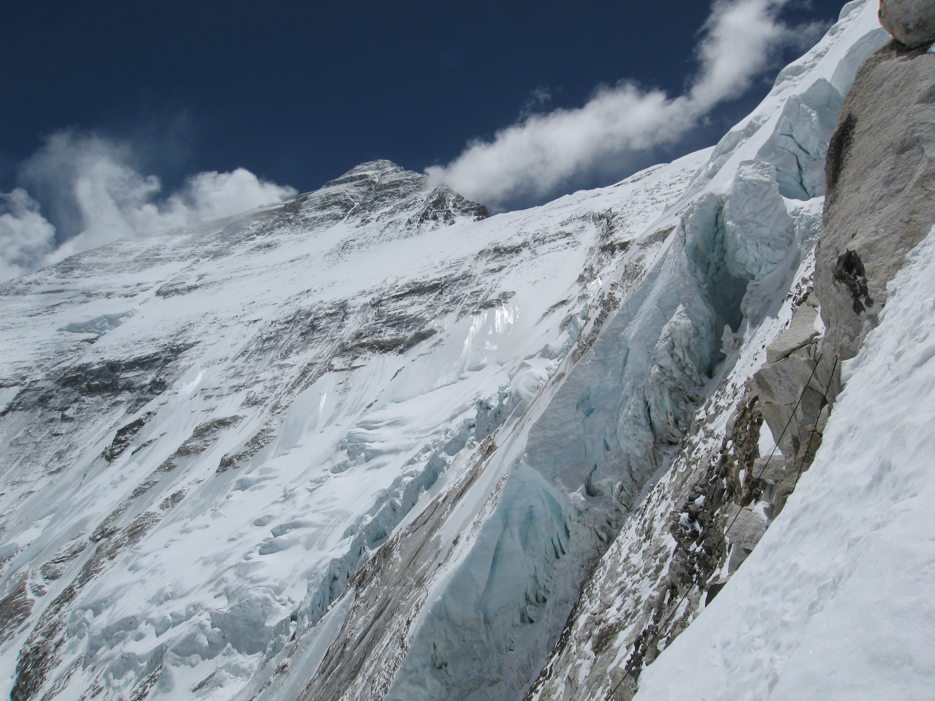 Everest North Face from French Spur