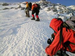 Winter Ascent Mt Assiniboine