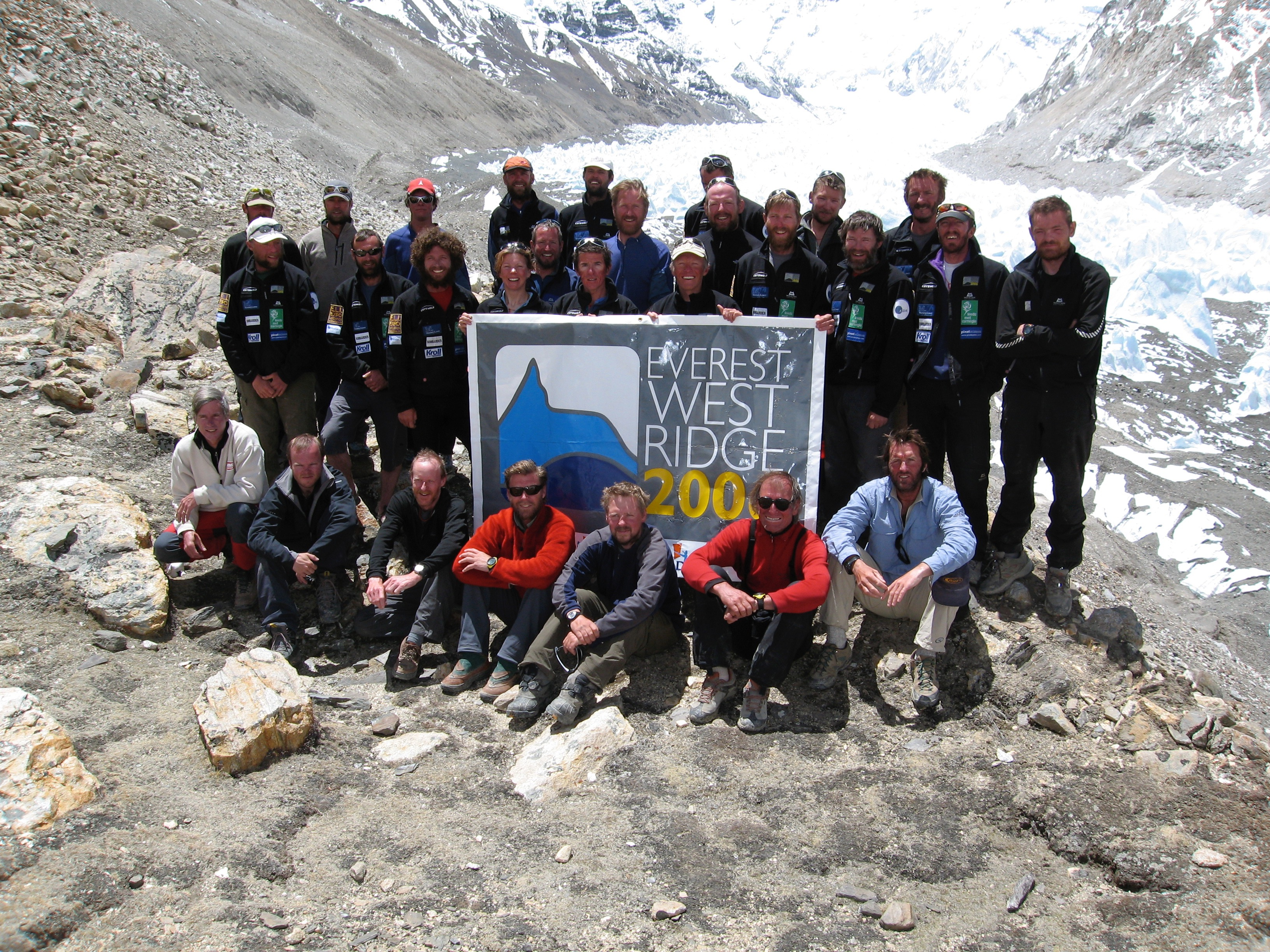 British Everest West Ridge Team