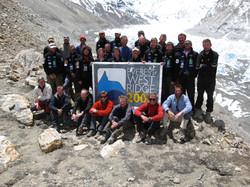 British Everest West Ridge Team