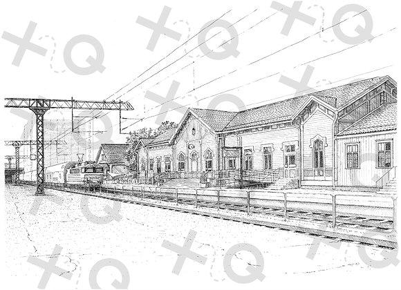 (MYYTY) Oulun Rautatieasema