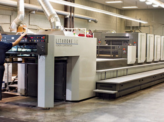 Our Offset Printer