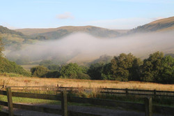 Mist down to the north