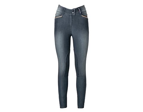 Cardento Knee Grip Black Grey Jeans
