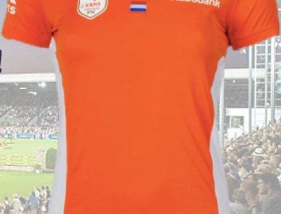 PK Oranje Line Polo Dames